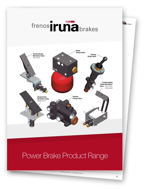 Power Brake Product Range - Iruña Brakes